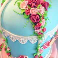 Birdcage Wedding Cake top