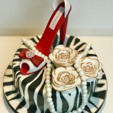 Red Shoe Cake