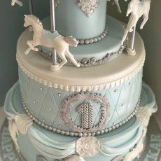 Carousel Cake Blue 2