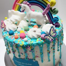 Unicorn Birthday cake