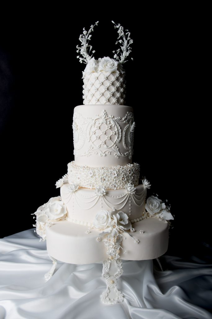 The luxurious Royal Wedding cake design Essex