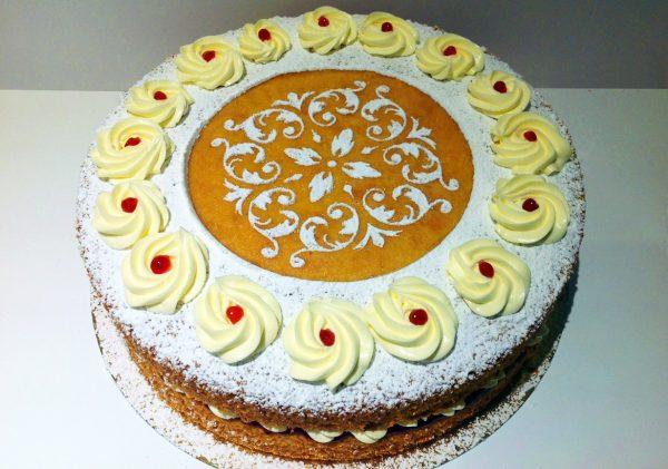 Victoria Sponge Birthday Cake