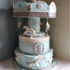 Carousel Cake Blue Essex