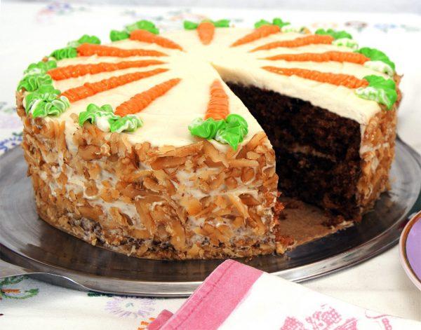 Carrot Cake close up