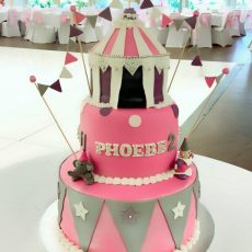 Circus Birthday Cake full