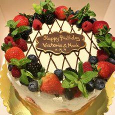 Messy Victoria Cake 2