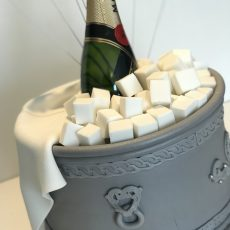 Champagne For Everyone birthday cake