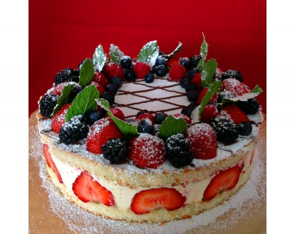 Fruits Birthday Cake 2