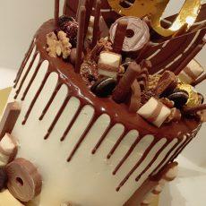 Chocolate Kingdom birthday Cake