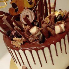 Chocolate Kingdom birthday Cake 1