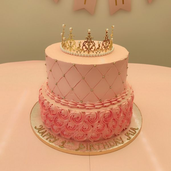 Princess Birthday Cake Pink