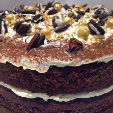 Nutella Oreo cake