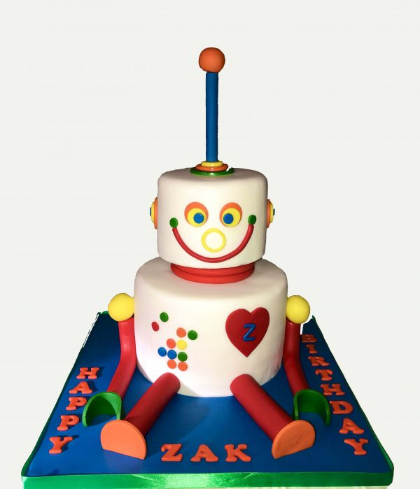 The Robot cake