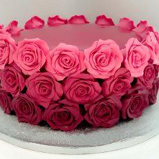 Million Roses cake