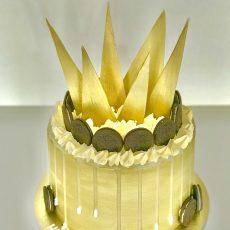 Golden Kingdom Cake
