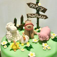 Animal Farm themed cake