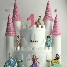 Princess Castle Birthday Cake Essex